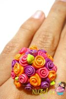 Bright Roses RING by colourful-blossom