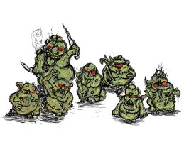 Nurglings by Gears24