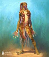 Galafuz the forest entity by Wilustra
