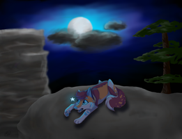 :COM: Star in the Moonlight by freedomhowls
