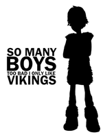 HTTYD: Tsk, Tsk, So Many Boys [SHIRTS FOR SALE] by fuu-namine
