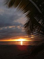 Sunset Jamaica Beach No. 2 by skywalkerdesign