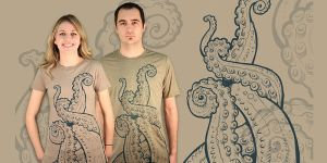 Deep Creature T Shirt by Design-By-Humans