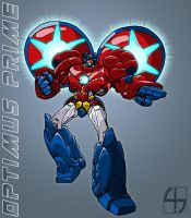 TransTech Optimus Prime by fourth-heir