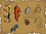 DS: Shields and Misc Weapons by willowWISP