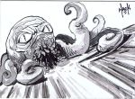 War of the Worlds sketchcard 01 by RobertHack