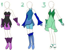 Mermaid Melody Adoptables 1 -Closed- by BunnyGirlAdoptables