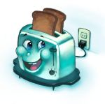 Toaster by danimation2001