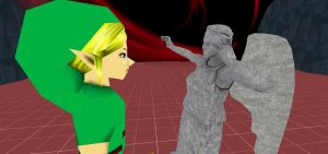 Gmod-BEN and the Weeping Angel 1 by jayemeraldover9000x
