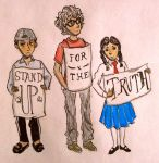Stand Up for the Truth by maelstromstirrer