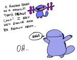 Wooper and Quagsire by JHALLpokemon