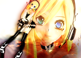 MMD Newcomer - xDropDeadRinni by xDeliciousDemise