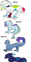 FREE ADOPTABLES FOR MY WATCHERS ONLY! by snoopyluver5