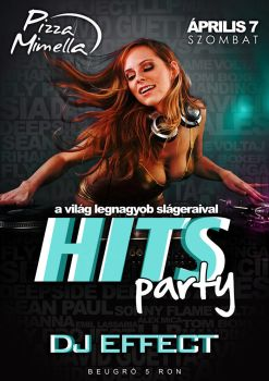 Hit Party - FLYER by iulian95