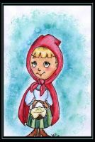 Little Red Riding Hood by Anhinga