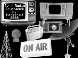 Tv - Radio old styles by Wormchow