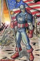Captain America by albreech