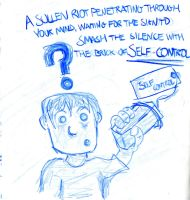 The Brick Of Self Control by Dimworm