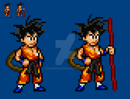 Kid Goku by sameersan