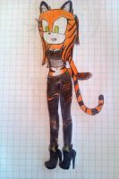 Lily the Tiger by AmyRose003