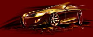 Muscle Car with attitude by reedesigner