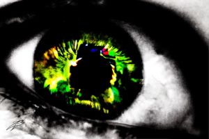 Eye HDR (re-edit) by autumnashes1515