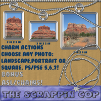 Charm actions and chains, ASL by debh945