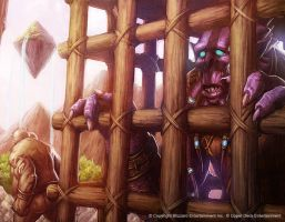 Corki's Ransom by Concept-Art-House