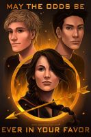 The Hunger Games by daniellesylvan