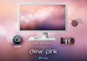 Wallpaper Drew Pink by CaHilART