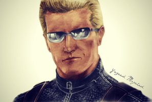 Albert Wesker Art-Yazeed by Captain1Yazeed