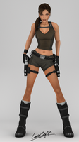 Lara Croft by James--C