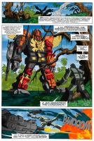 Transformers 25 page 19 recolour by hellbat