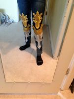 testing leg armor for wizard by HikaruHrist