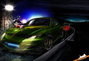 Mazda RX-8 NFS by galantaigeri
