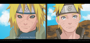 Naruto Scan 691 Goodbye Dad by Sarah927