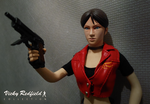 Resident Evil Code: Veronica X - Claire dragon fig by Vicky-Redfield