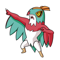 Heroic Hawlucha by Red-Flare