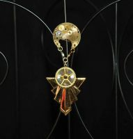 Airship Captain brooch by Anthyslily