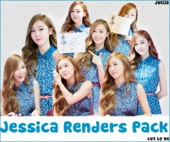 PNG Jessica Renders Pack by ngangiang38