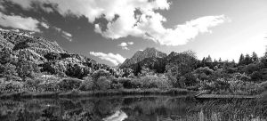 Lake and Mountain by thenIsaidno