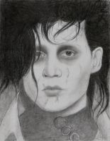 Edward Scissorhands by KissMyDress