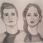 Peeta and Katniss by dancewithpassion33