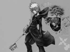 roXas by Axela-The-Nobody
