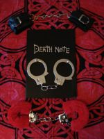 Death Note and handcuffs 3 by Lost-in-Death