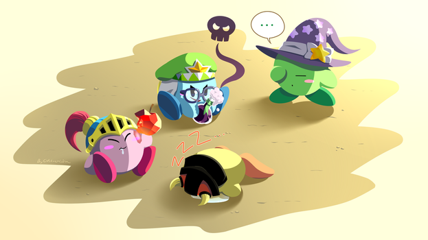 Kirby_The Allmighty... Heroes? by Chivi-chivik