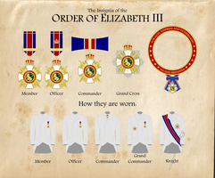 The Order of Elizabeth III by firelord-zuko