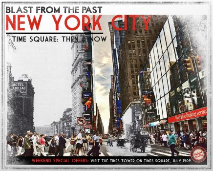New York / Then and Now by shkaro