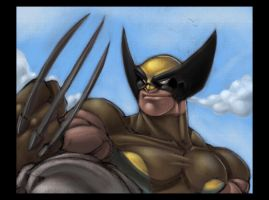 Wolverine by Red-J by TheNass