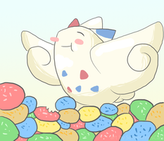 Togekiss Noms by SometimesCats